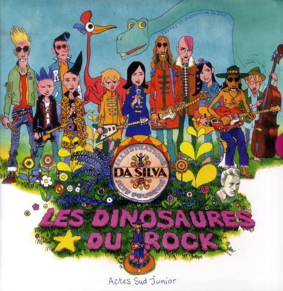 Couverture de Les dinosaures du Rock - Les Dinosaures du Rock