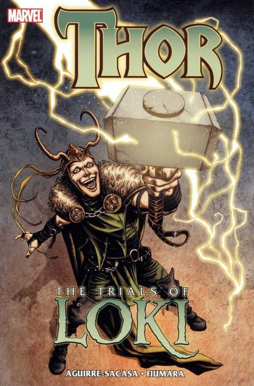 Couverture de Loki (2010) -INT- The Trials of Loki