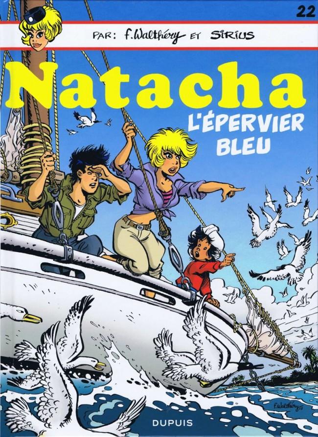 Couverture de Natacha -22- L'Épervier bleu
