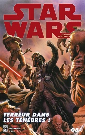 Couverture de Star Wars - Comics magazine -8A- Terreur dans les ténèbres !