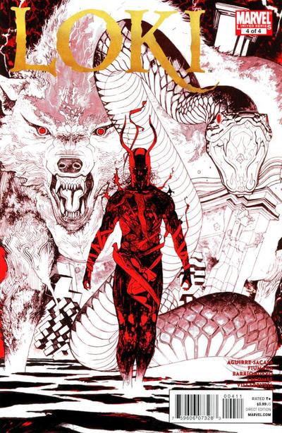 Couverture de Loki (2010) -4- The Crooked Path