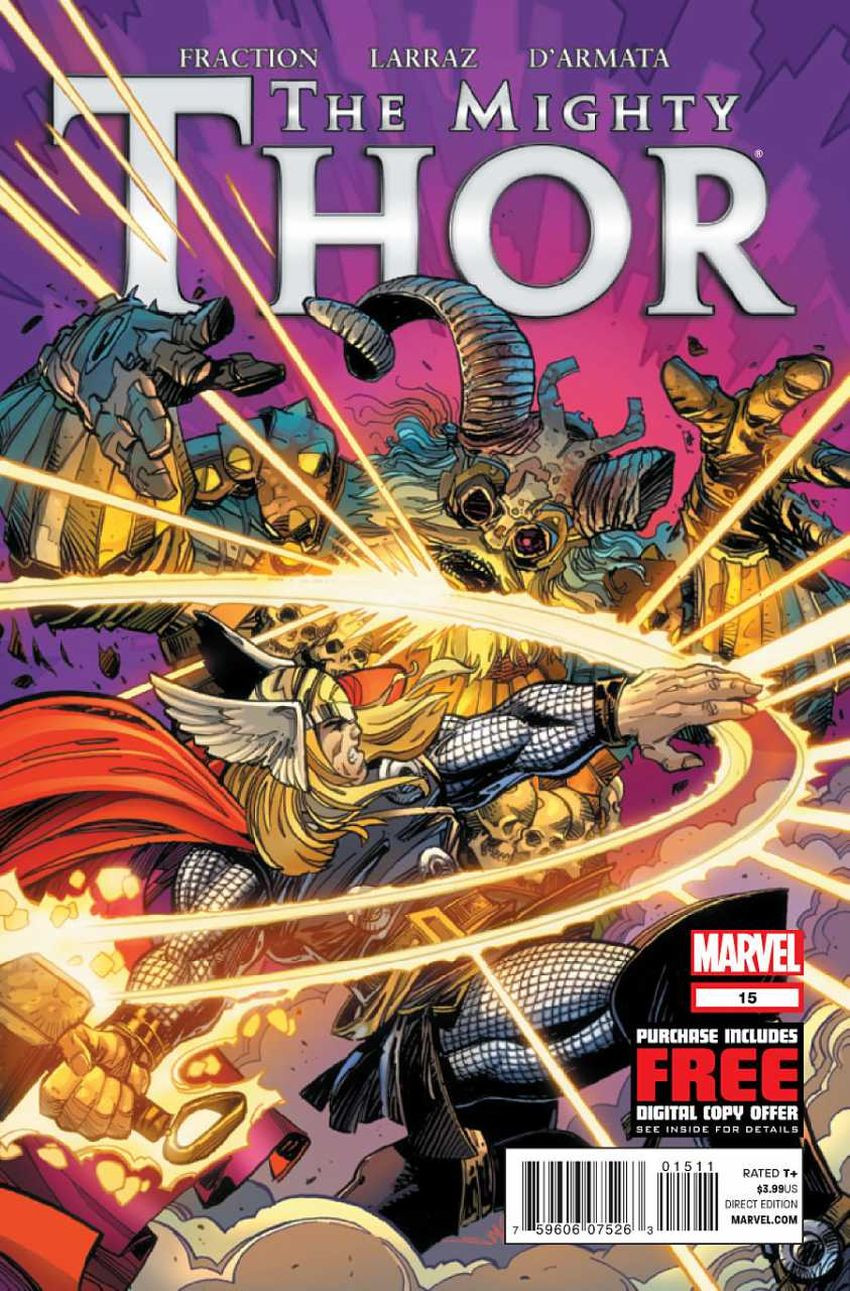 Couverture de Mighty Thor (The) (2011) -15- Issue 15