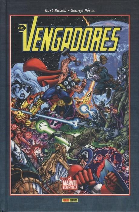 Couverture de Best of Marvel Essentials - Los Vengadores de Busiek y Pérez -2- Los Vengadores