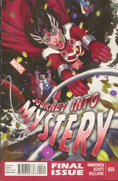 Couverture de Journey into Mystery (1952) -655- Issue 655