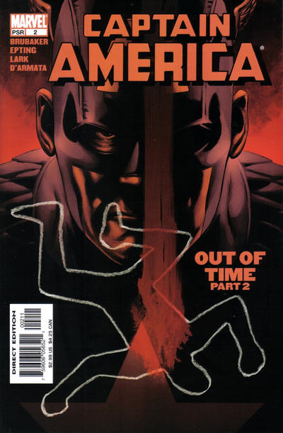 Couverture de Captain America (2005) -2- Out Of Time (Part 2)