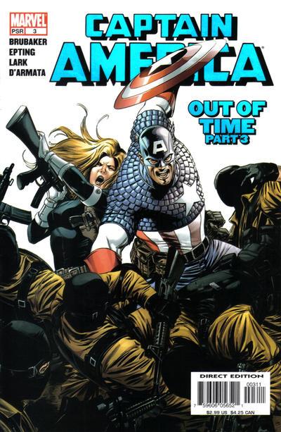 Couverture de Captain America (2005) -3- Out Of Time (Part 3)