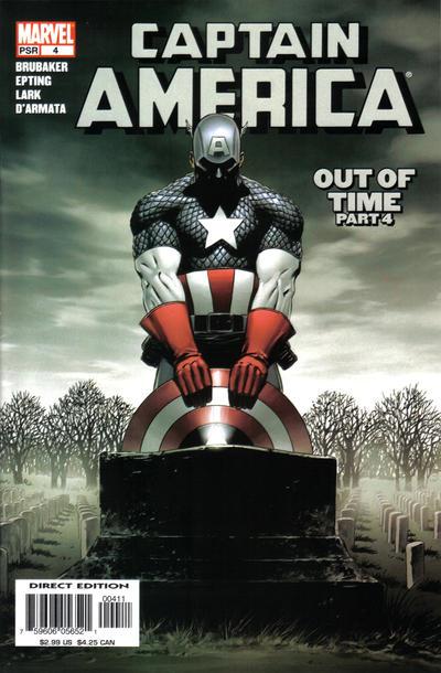 Couverture de Captain America (2005) -4- Out Of Time (Part 4)