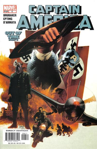 Couverture de Captain America (2005) -6- Out Of Time (Part 6)