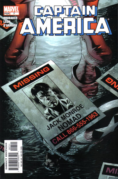 Couverture de Captain America (2005) -7- Interlude: The Lonesome Death Of Jack Monroe