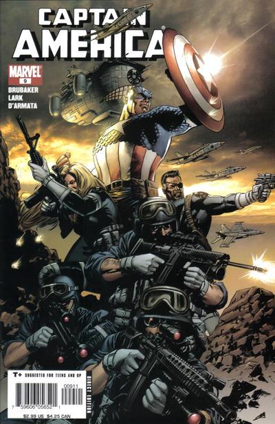 Couverture de Captain America (2005) -9- The Winter Soldier (Part 2)