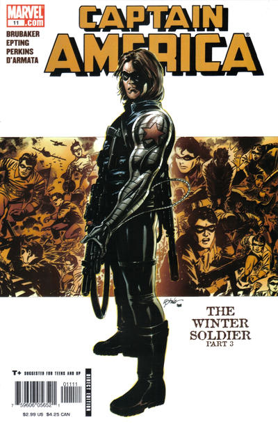 Couverture de Captain America (2005) -11- The Winter Soldier (Part 3)