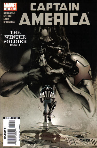 Couverture de Captain America (2005) -12- The Winter Soldier (Part 4)