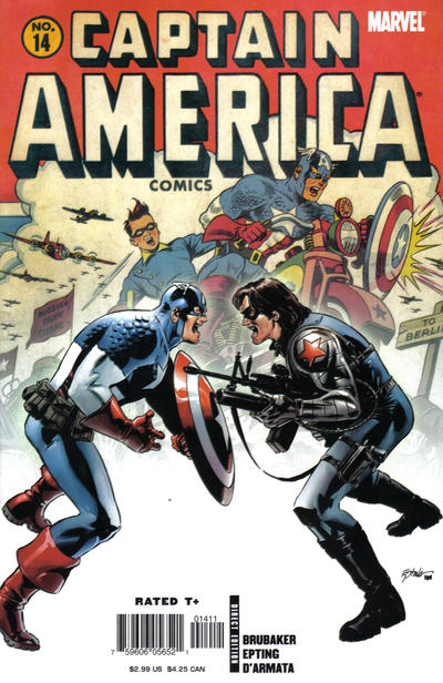 Couverture de Captain America (2005) -14- The Winter Soldier (Part 6)