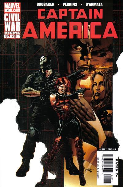 Couverture de Captain America (2005) -17- Collision Courses (Part 2)