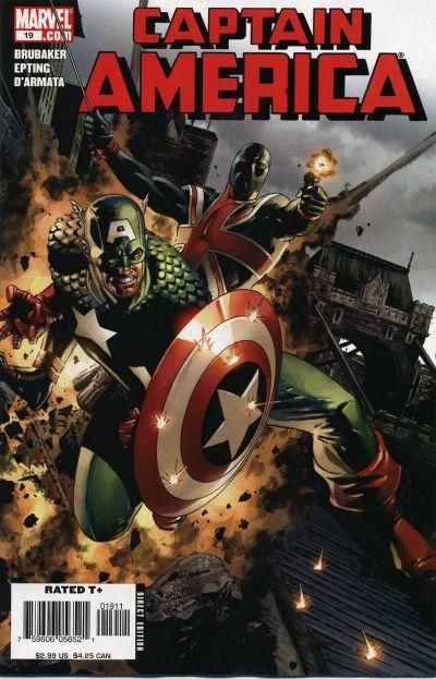 Couverture de Captain America (2005) -19- Twenty-First Century Blitz (Part 2)