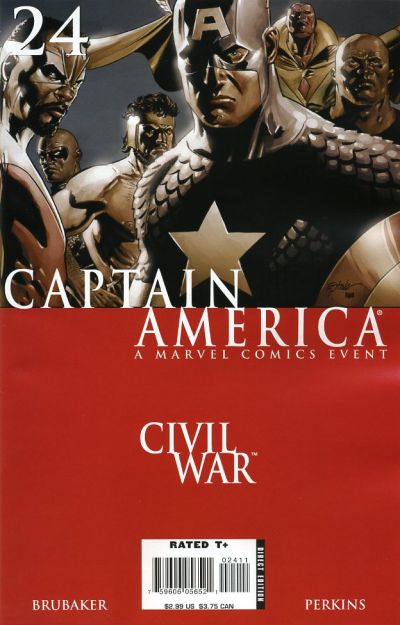 Couverture de Captain America (2005) -24- Issue 24