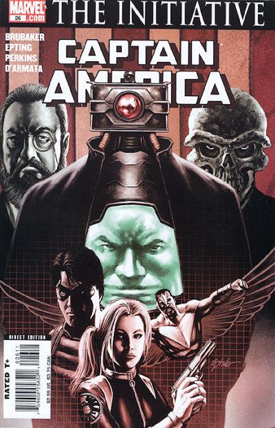 Couverture de Captain America (2005) -26- Issue 26