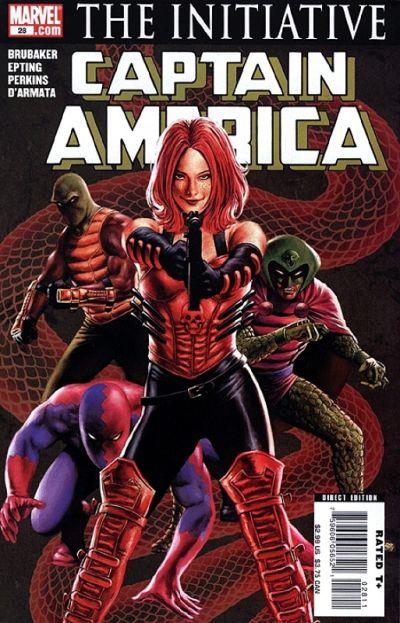 Couverture de Captain America (2005) -28- Issue 28