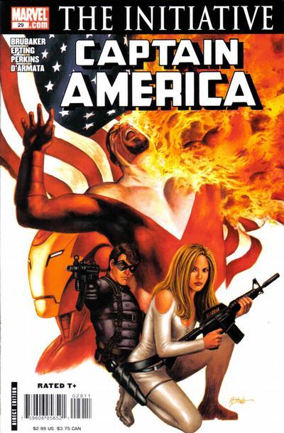 Couverture de Captain America (2005) -29- Issue 29
