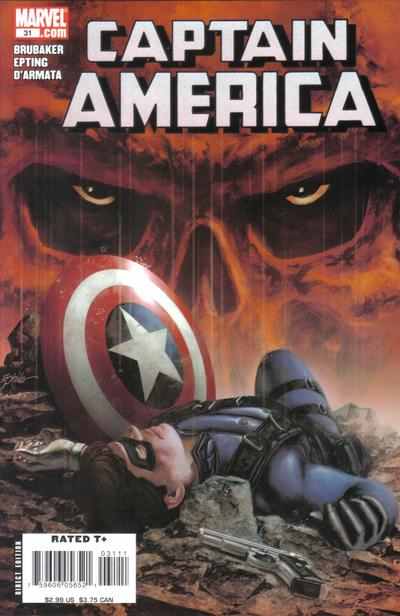 Couverture de Captain America (2005) -31- Issue 31