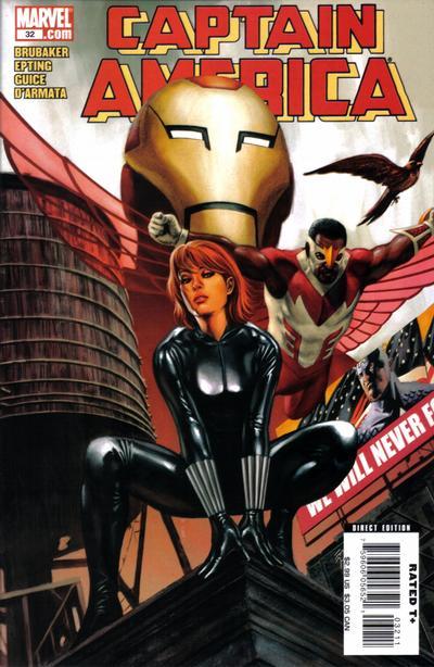 Couverture de Captain America (2005) -32- Issue 32
