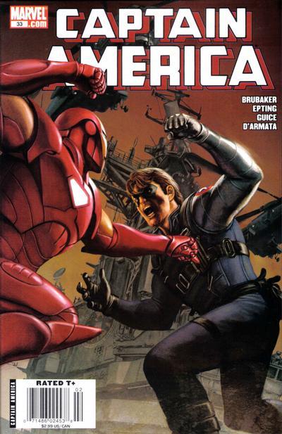 Couverture de Captain America (2005) -33- Issue 33