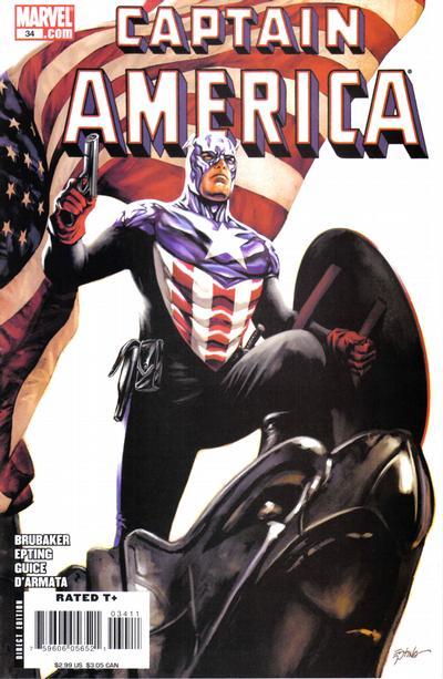 Couverture de Captain America (2005) -34- Issue 34