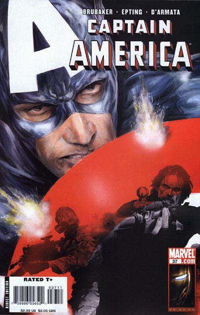Couverture de Captain America (2005) -37- Issue 37