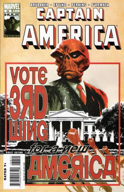 Couverture de Captain America (2005) -38- Issue 38
