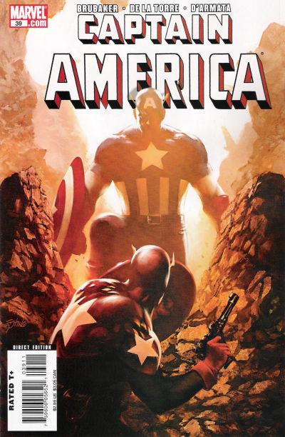 Couverture de Captain America (2005) -39- Issue 39