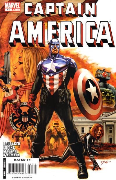 Couverture de Captain America (2005) -41- Issue 41