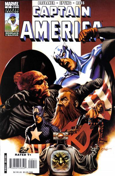 Couverture de Captain America (2005) -42- Issue 42