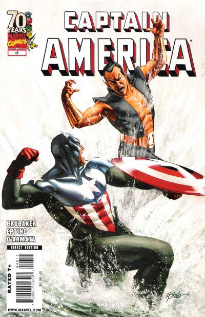 Couverture de Captain America (2005) -46- Issue 46