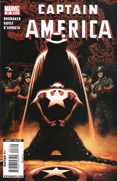 Couverture de Captain America (2005) -47- Issue 47