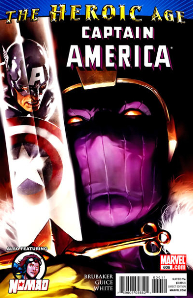 Couverture de Captain America (1968) -606- Issue 606