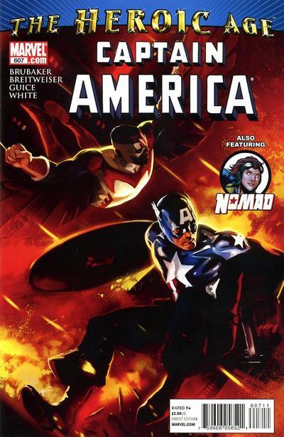 Couverture de Captain America (1968) -607- Issue 607