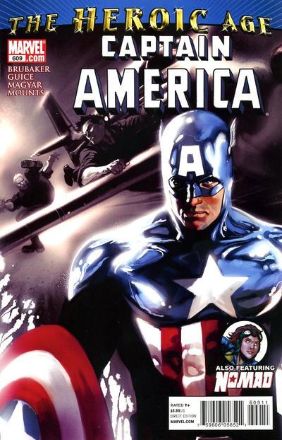 Couverture de Captain America (Marvel comics - 1968) -609- Issue 609