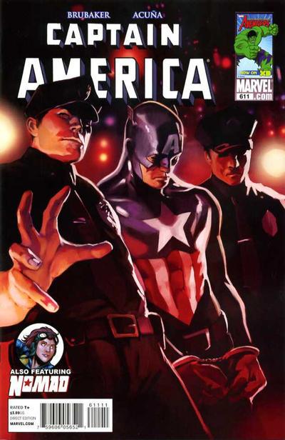 Couverture de Captain America (1968) -611- Issue 611