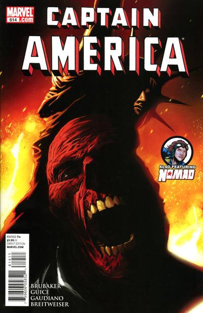 Couverture de Captain America (Marvel comics - 1968) -614- Issue 614