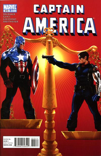 Couverture de Captain America (Marvel comics - 1968) -615- Issue 615