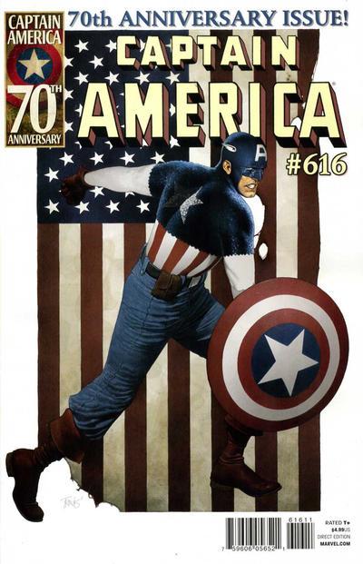 Couverture de Captain America (Marvel comics - 1968) -616- Issue 616