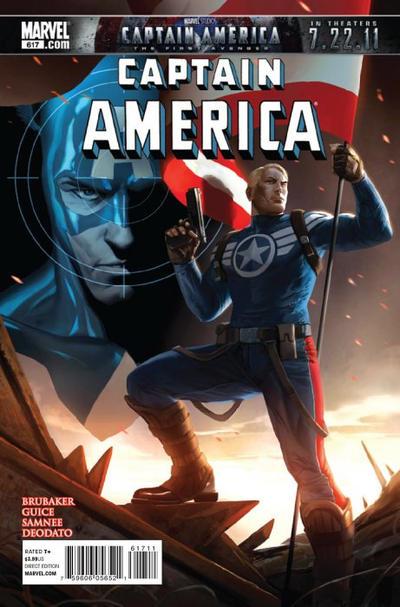 Couverture de Captain America (Marvel comics - 1968) -617- Issue 617