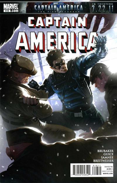 Couverture de Captain America (1968) -618- Issue 618