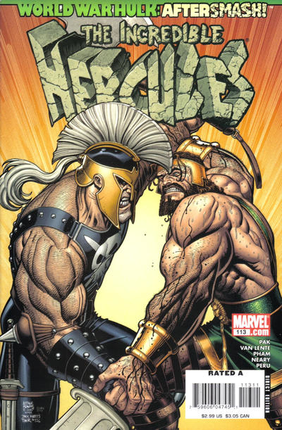 Couverture de The incredible Hercules (2008) -113- Shirt of Nessus