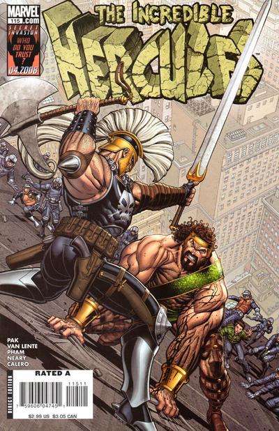Couverture de The incredible Hercules (2008) -115- Glory of Hera