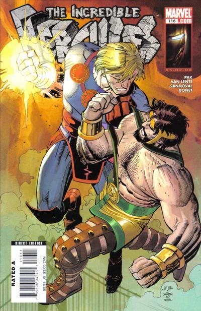 Couverture de The incredible Hercules (2008) -116- Sacred Invasion Prologue