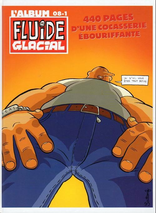 Couverture de (Recueil) Fluide Glacial (L'album) -25- 08-1