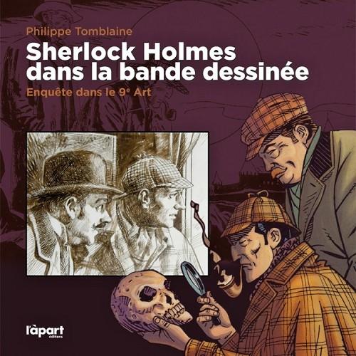 Couverture de (DOC) Études et essais divers -8- Sherlock Holmes dans la bande dessinée - Enquête dans le 9e Art