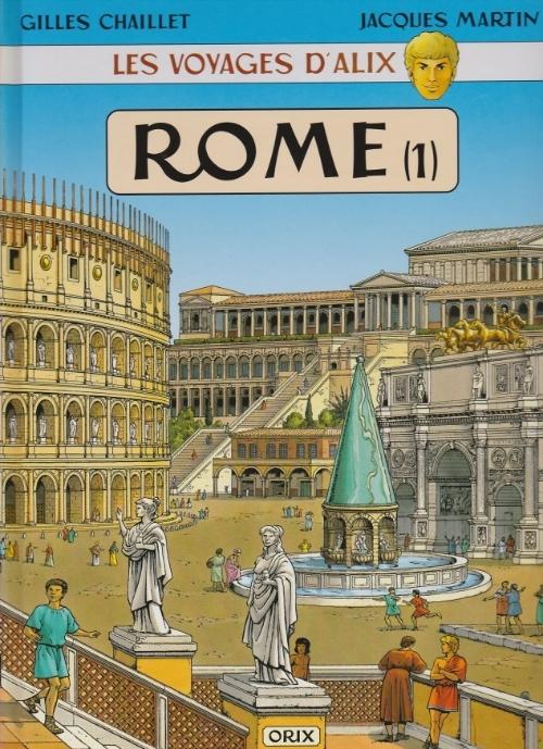 Couverture de Alix (Les Voyages d') -2- Rome (1)