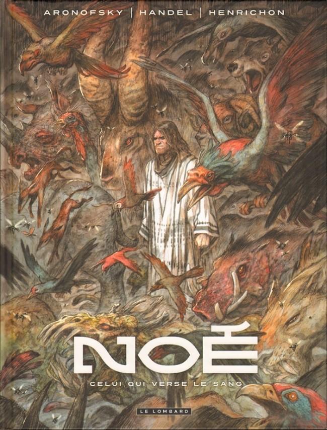 Noé (Aronofsky/Handel/Henrichon) - 4 tomes